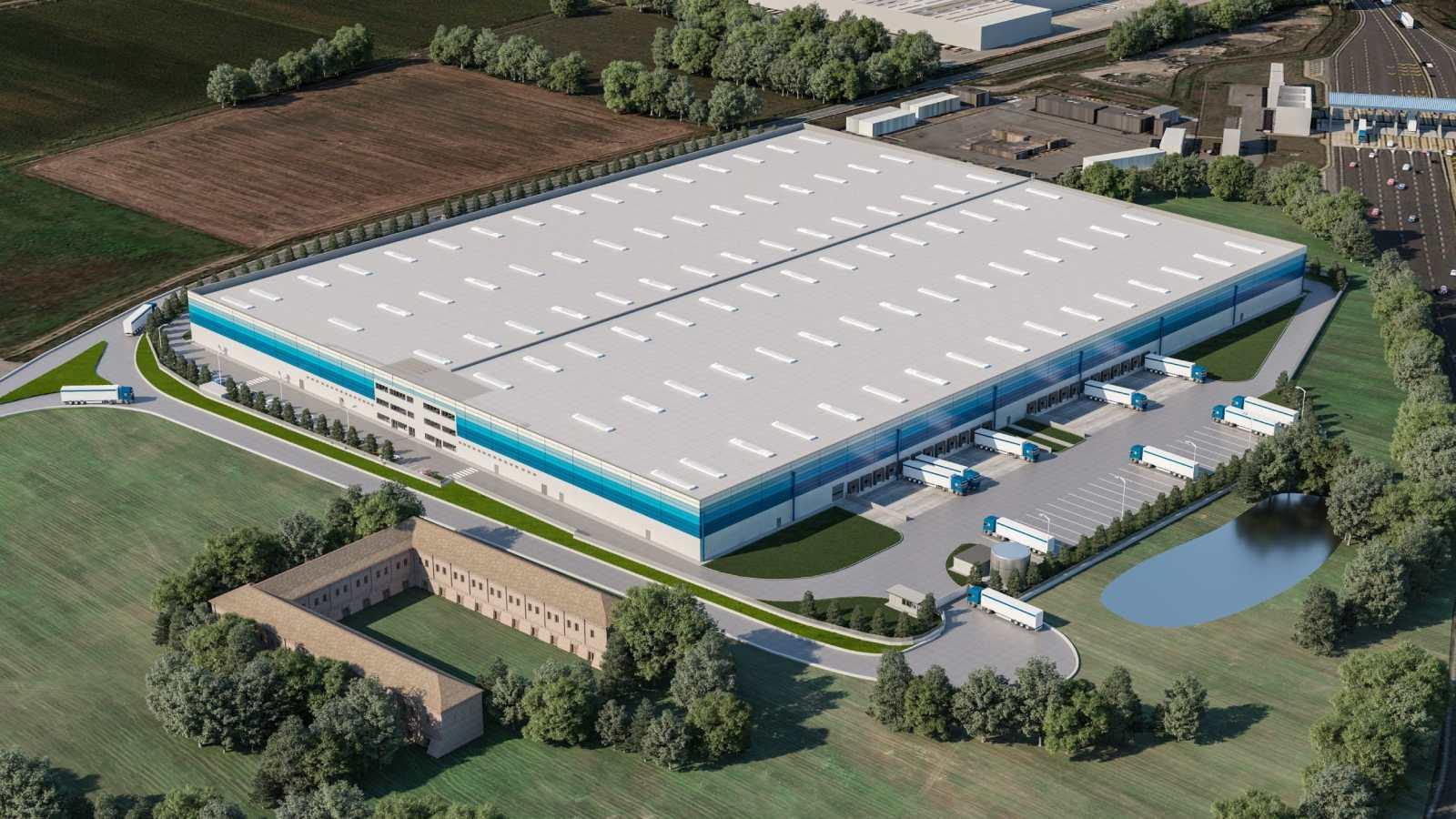 GSE construit une plateforme logistique de 48 000 m² en Italie