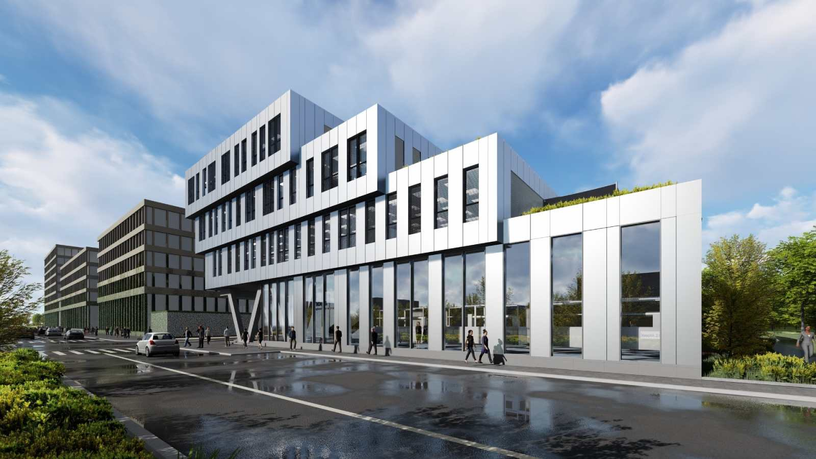 GSE vient d'achever la construction d'un ensemble de bureaux de 5 500m² à haute performance environnementale pour le compte de Xenocs
