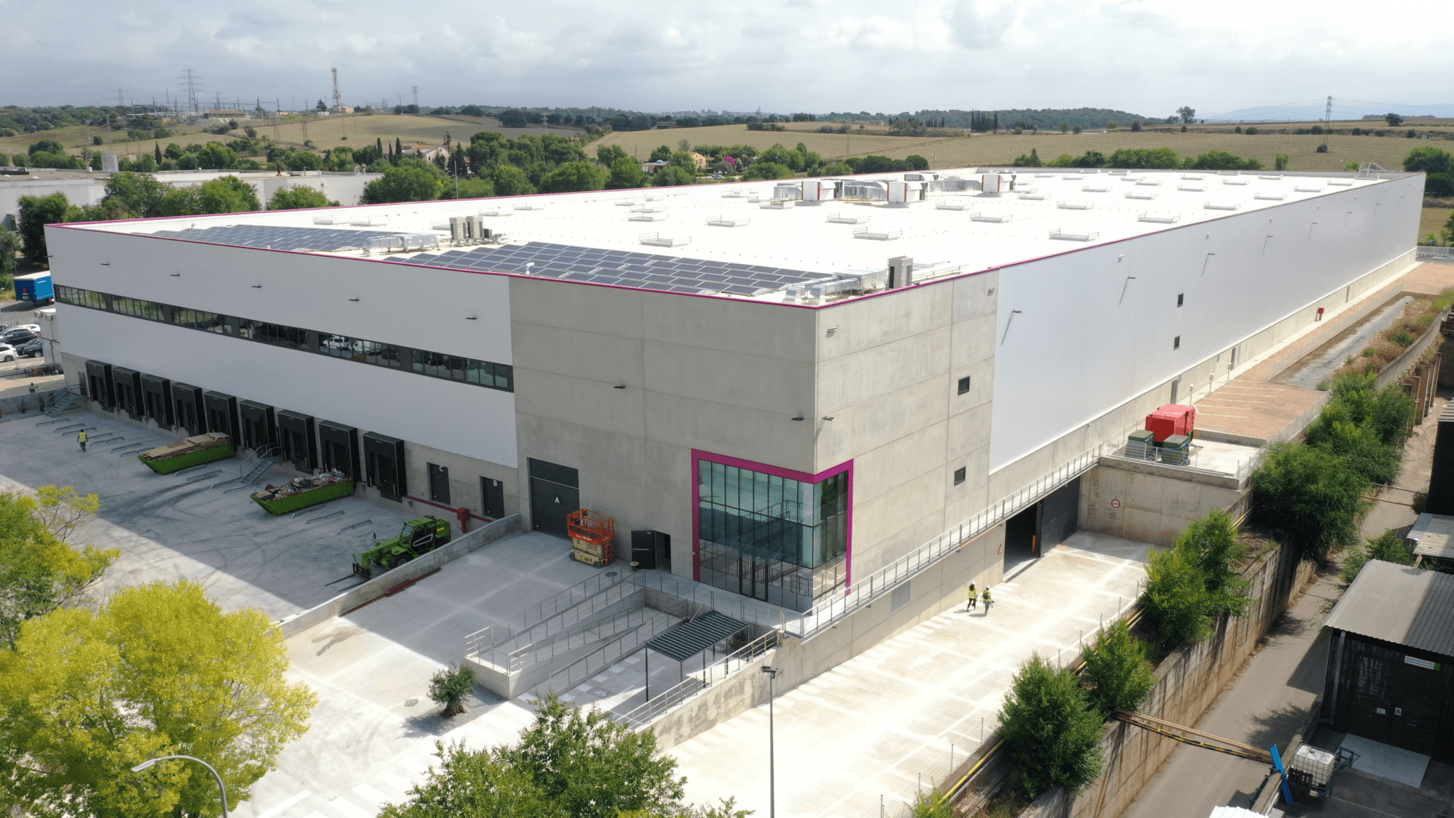 GSE delivers Europe's most advanced logistics centre to fedefarma