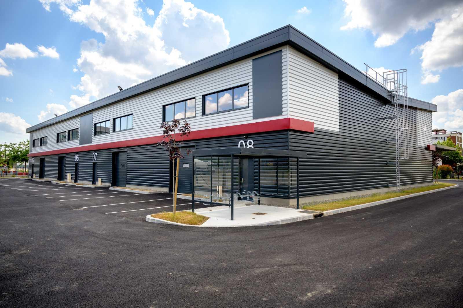 GSE a livré la première tranche du bâtiment d'activité OPUS PARK à Toulouse