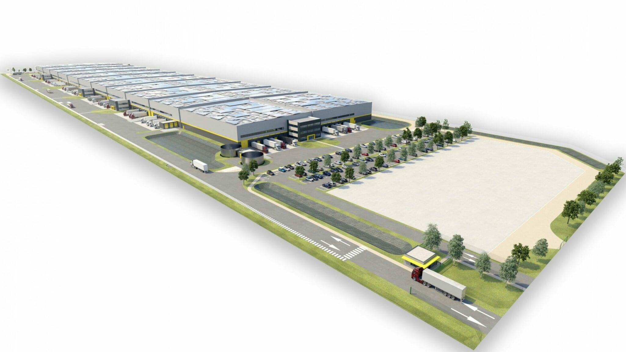 GSE completes sheff of 70 000m² logistics platforme in Marseille Port
