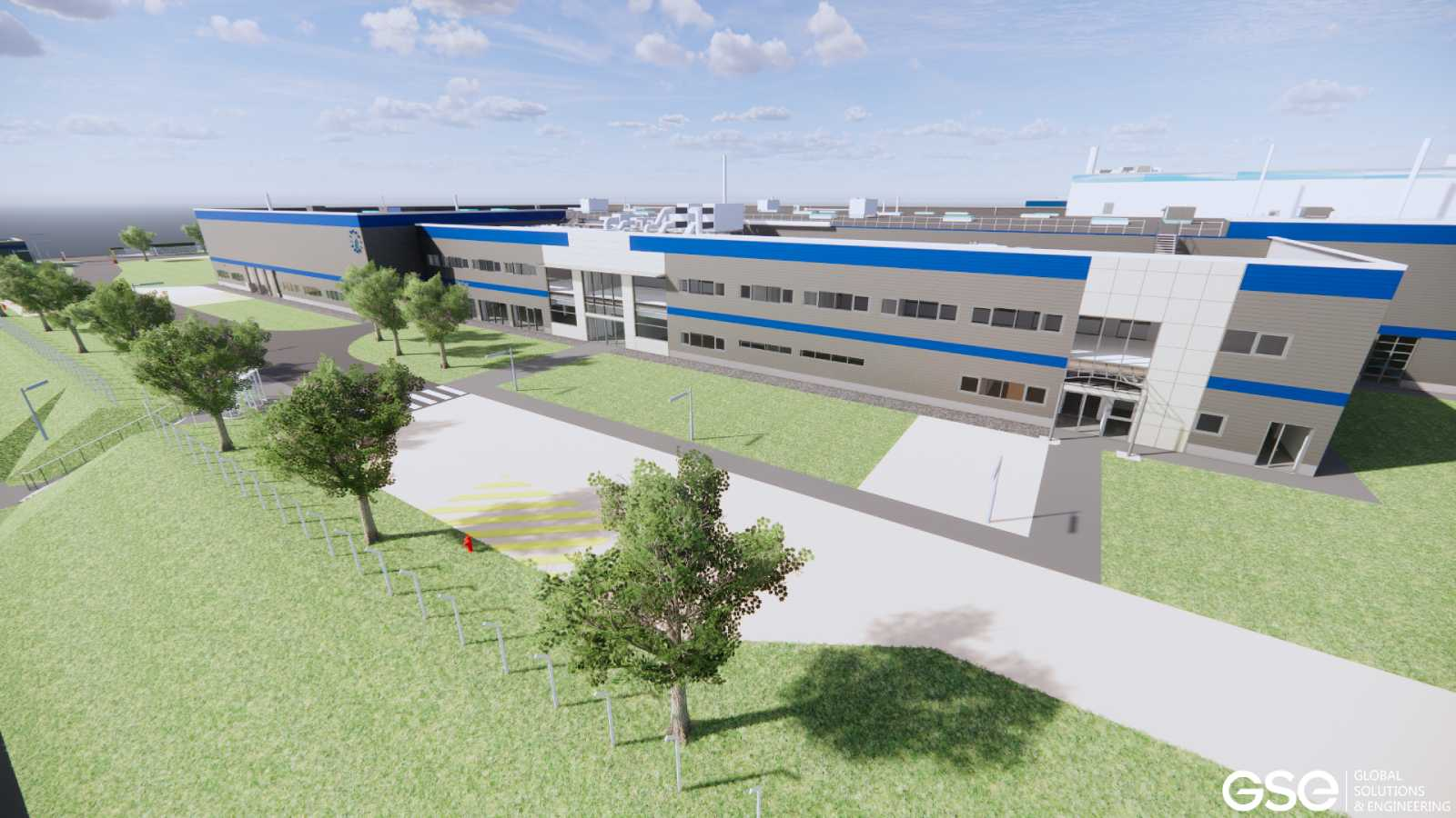 GSE to build LISI AEROSPACE's new 23,000 m² site