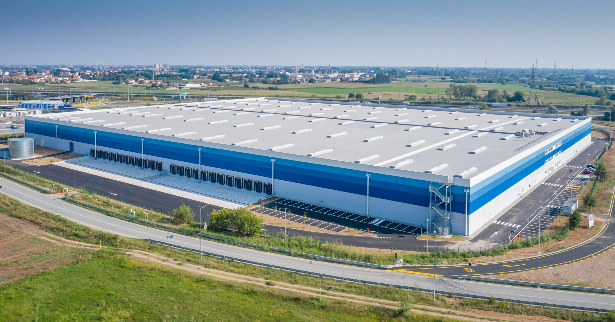 GSE Italy delivers a new 48,000 m² logistics platform near Milan for Carlyle Real Estate
