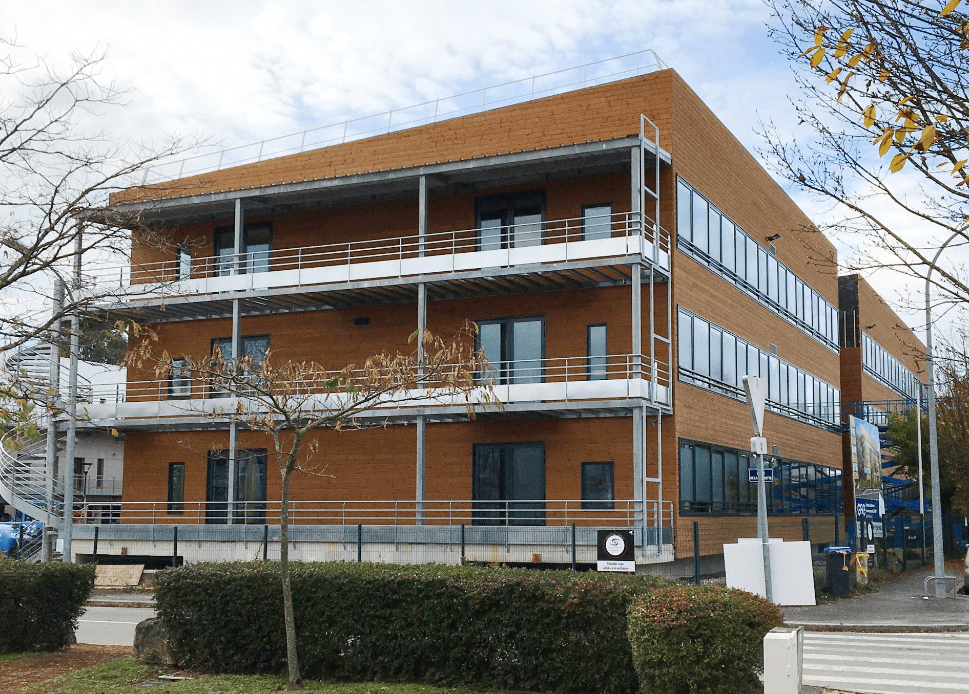 «Wood Office», le 1er bâtiment BEPOS à ossature bois sur Bordeaux Métropole