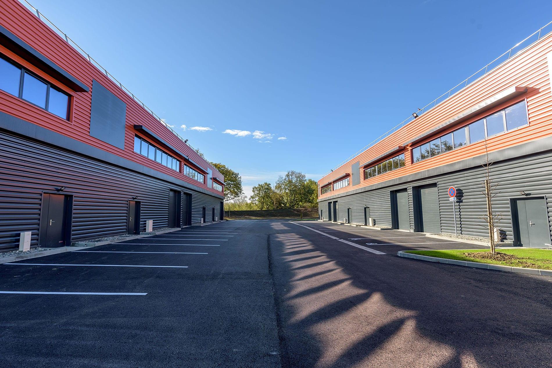 GSE livre un nouveau village d'entreprise de 4 660m² près de Toulouse