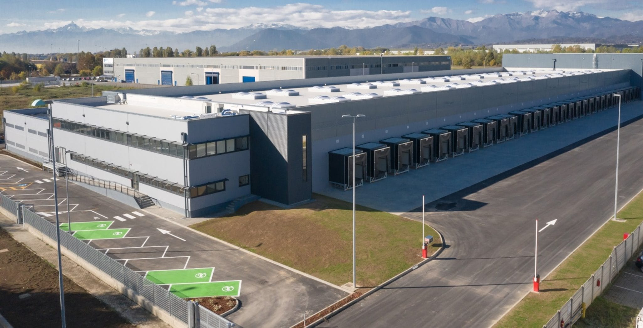 GSE Italy delivers 14,000m² logistics platform to DEA CAPITAL REAL ESTATE SGR S.P.A