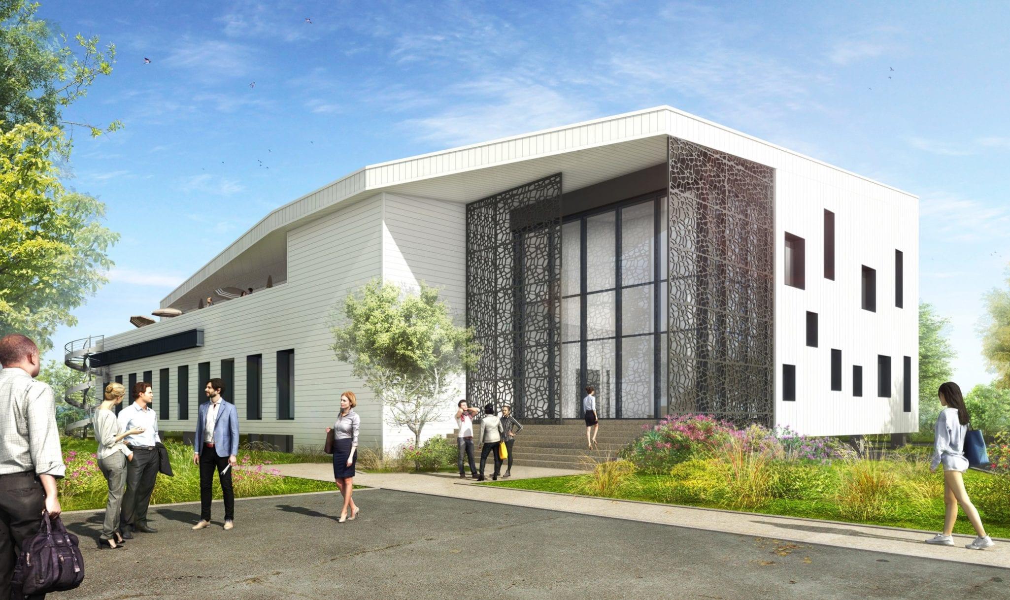 GSE construit le nouveau siège social de la société Claranor