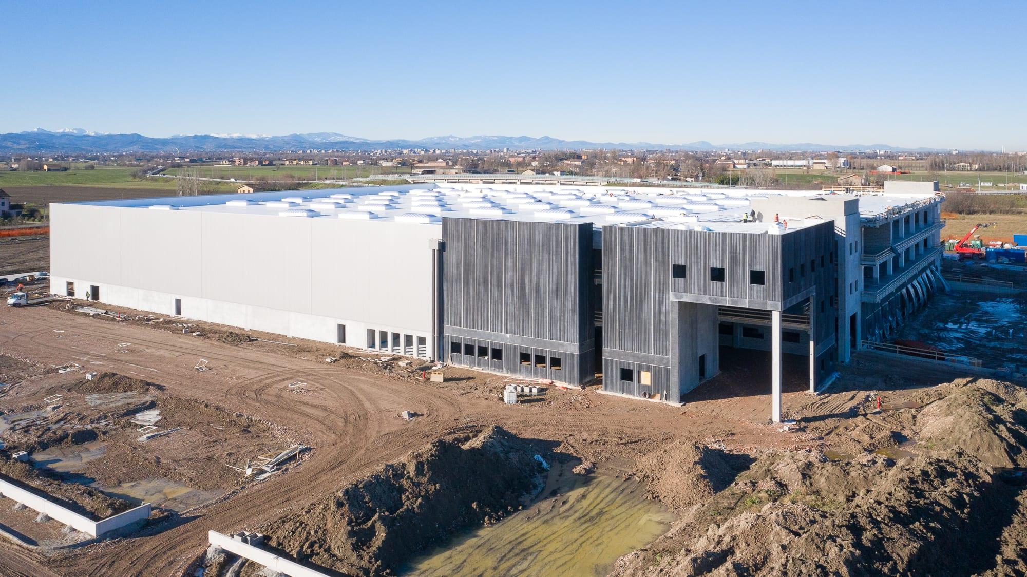 GSE lance la construction du nouveau centre de distribution de 18 000m² pour Kramp en Italie