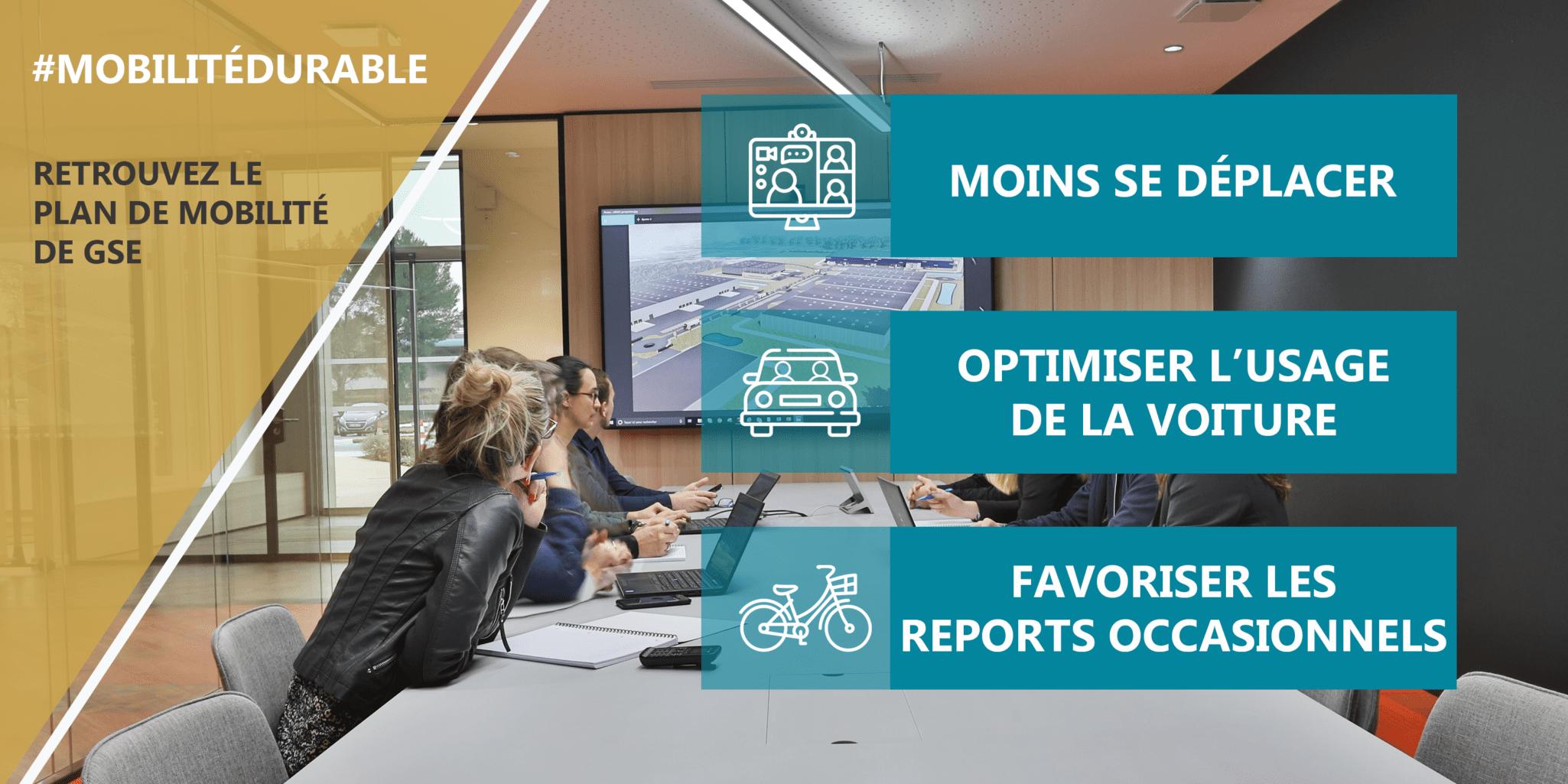 GSE publie son plan de mobilité durable !