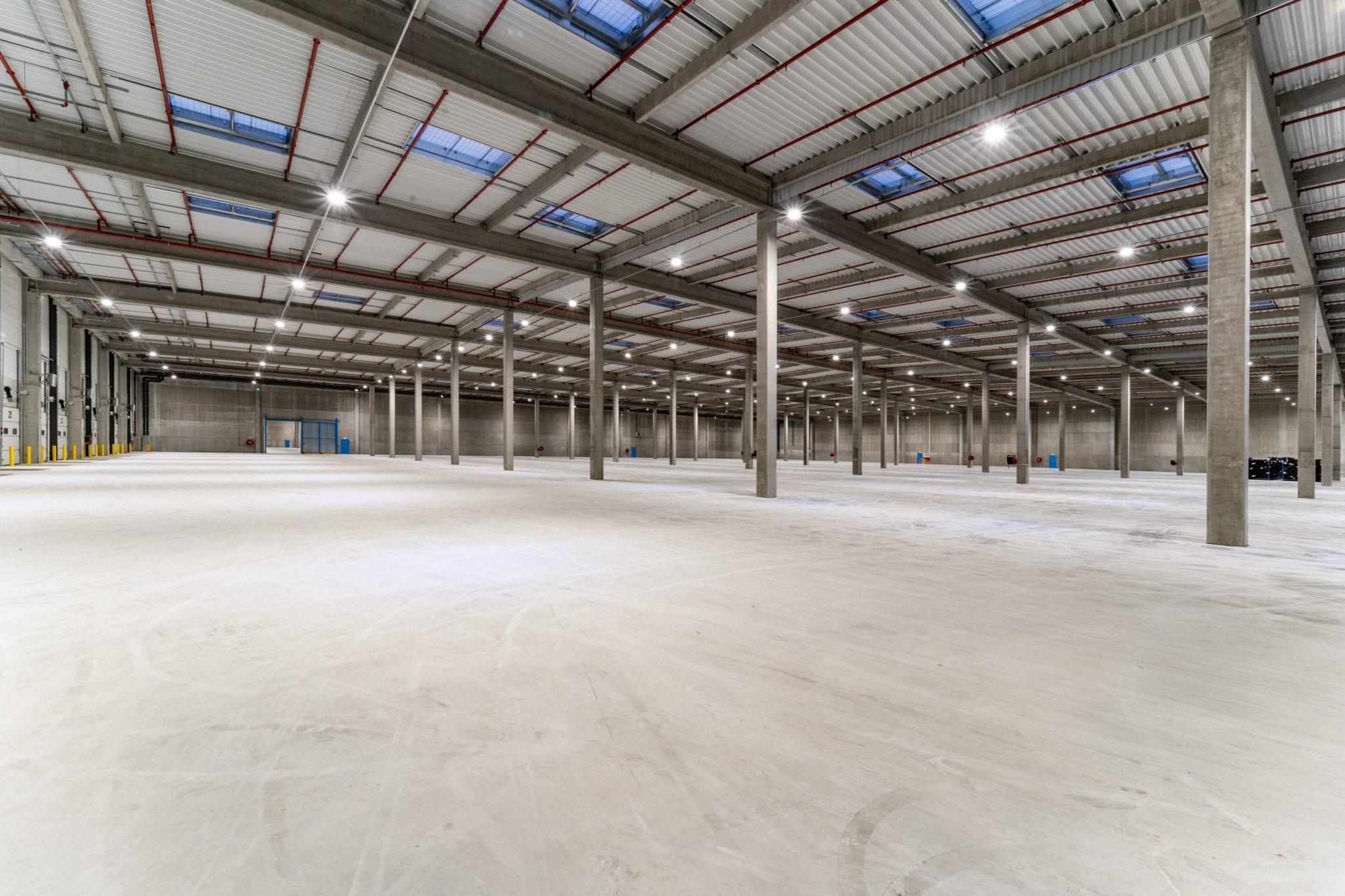 GSE delivers a 120,000 m² multi-user logistics platform