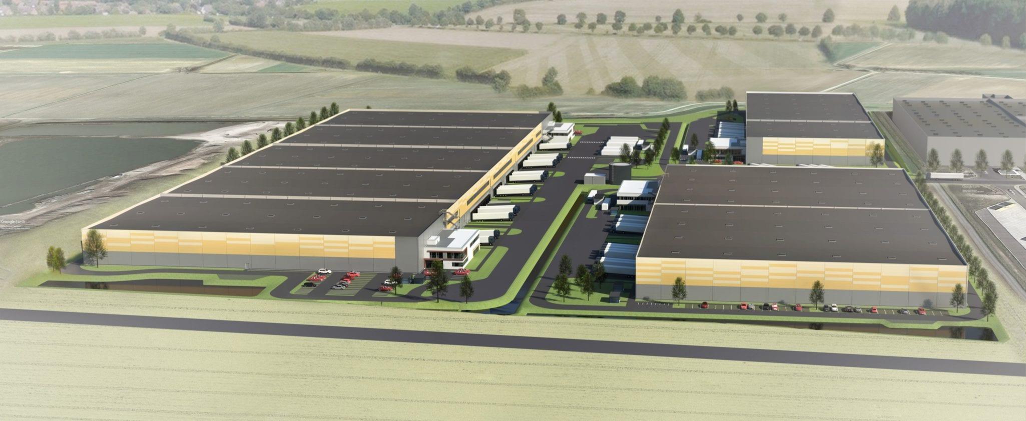 GSE Allemagne réalise un entrepôt logistique de 90 000 m² pour le groupe ENGLER