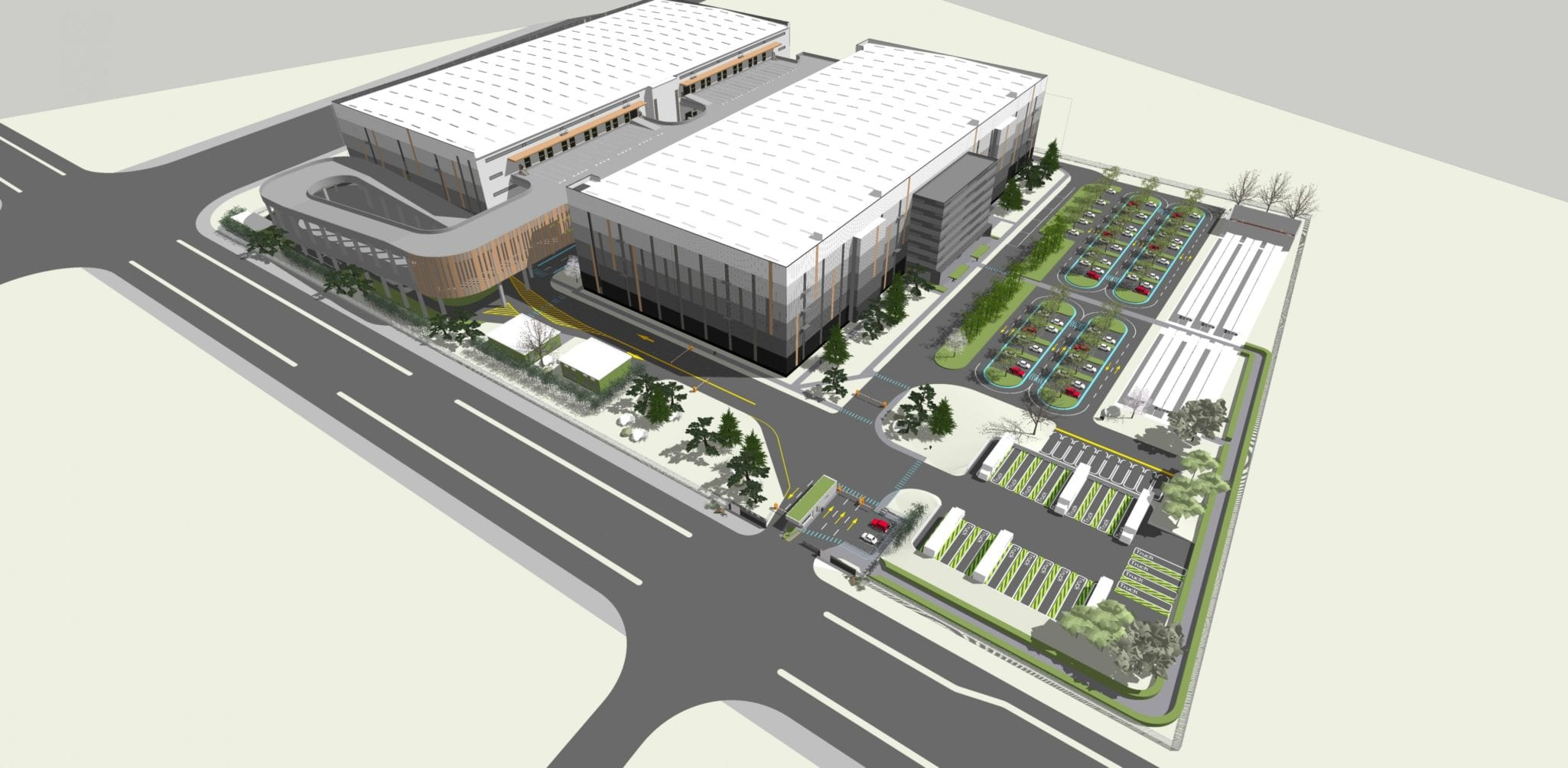 GSE will build a logistics platform of 130 000m² in China