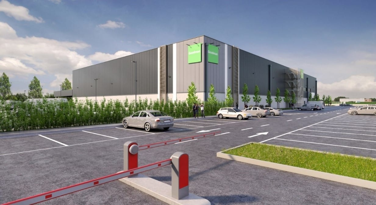 GSE Italy and GOODMAN together for the construction of a new last-mile warehouse in Pioltello