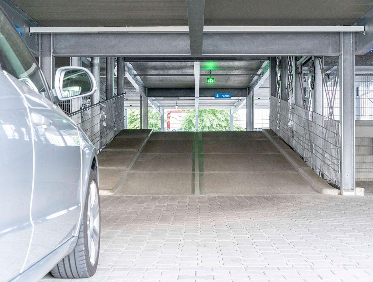 Le parking aérien