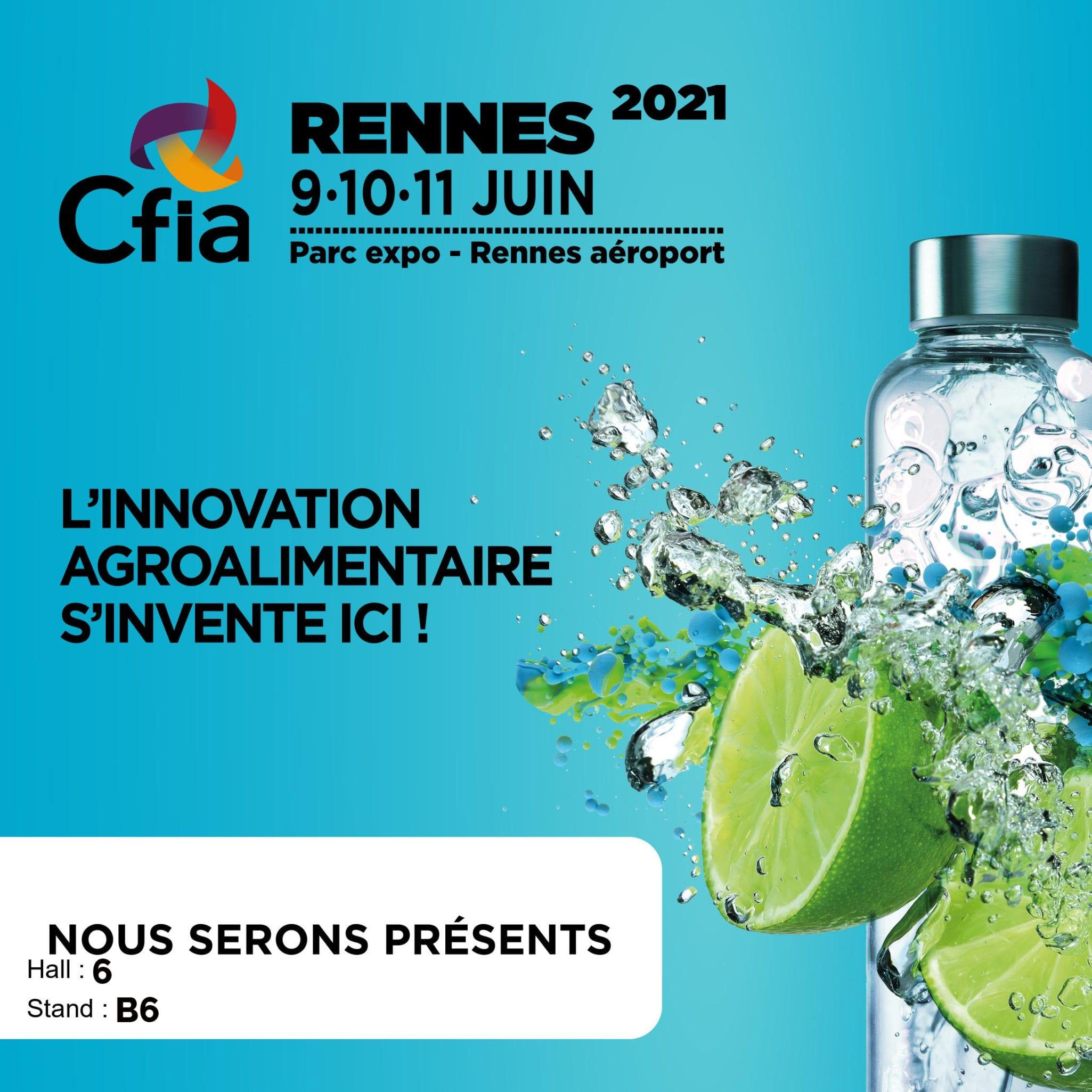 GSE participe au salon CFIA du 09 au 11 juin 2021