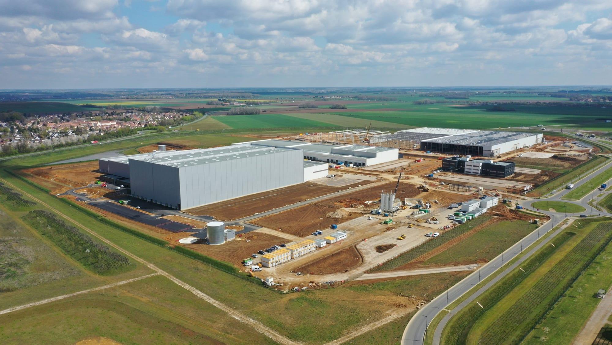 GSE construit le nouveau centre logistique ultra moderne de 75 000 m² de SCADIF en Seine-et-Marne (77)