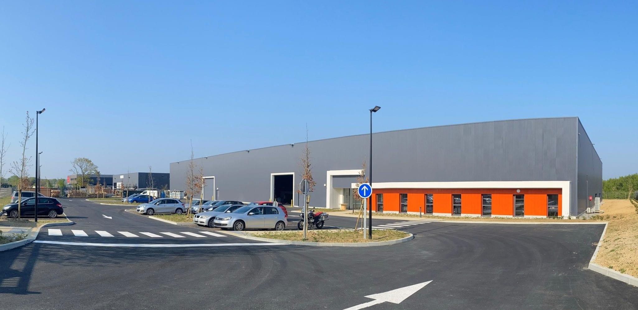 Près de Rennes (35), GSE livre le nouveau site de production de 4 000 m² de Bati Formes/MCMI