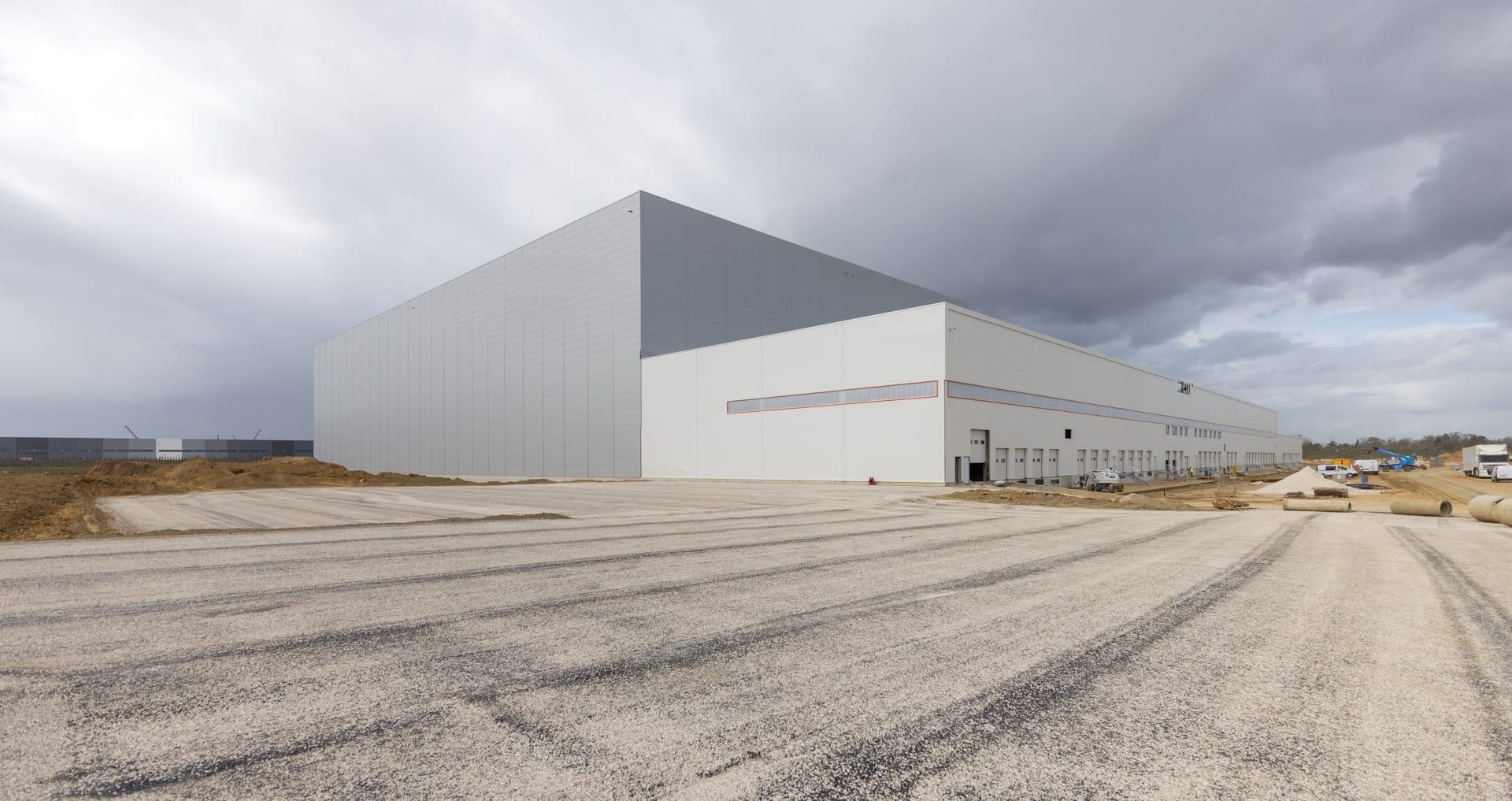 GSE construit le nouveau centre logistique ultra moderne de SCADIF en Seine-et-Marne (77)