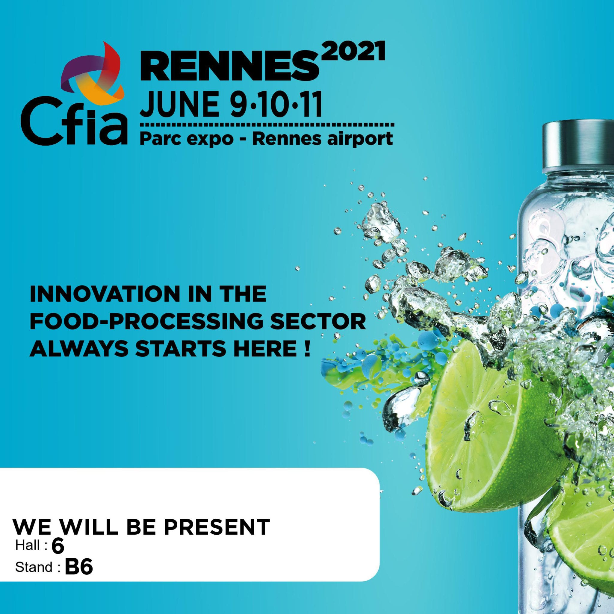 GSE to exhibit at the CFIA trade fair in Rennes – 9 to 11 June
