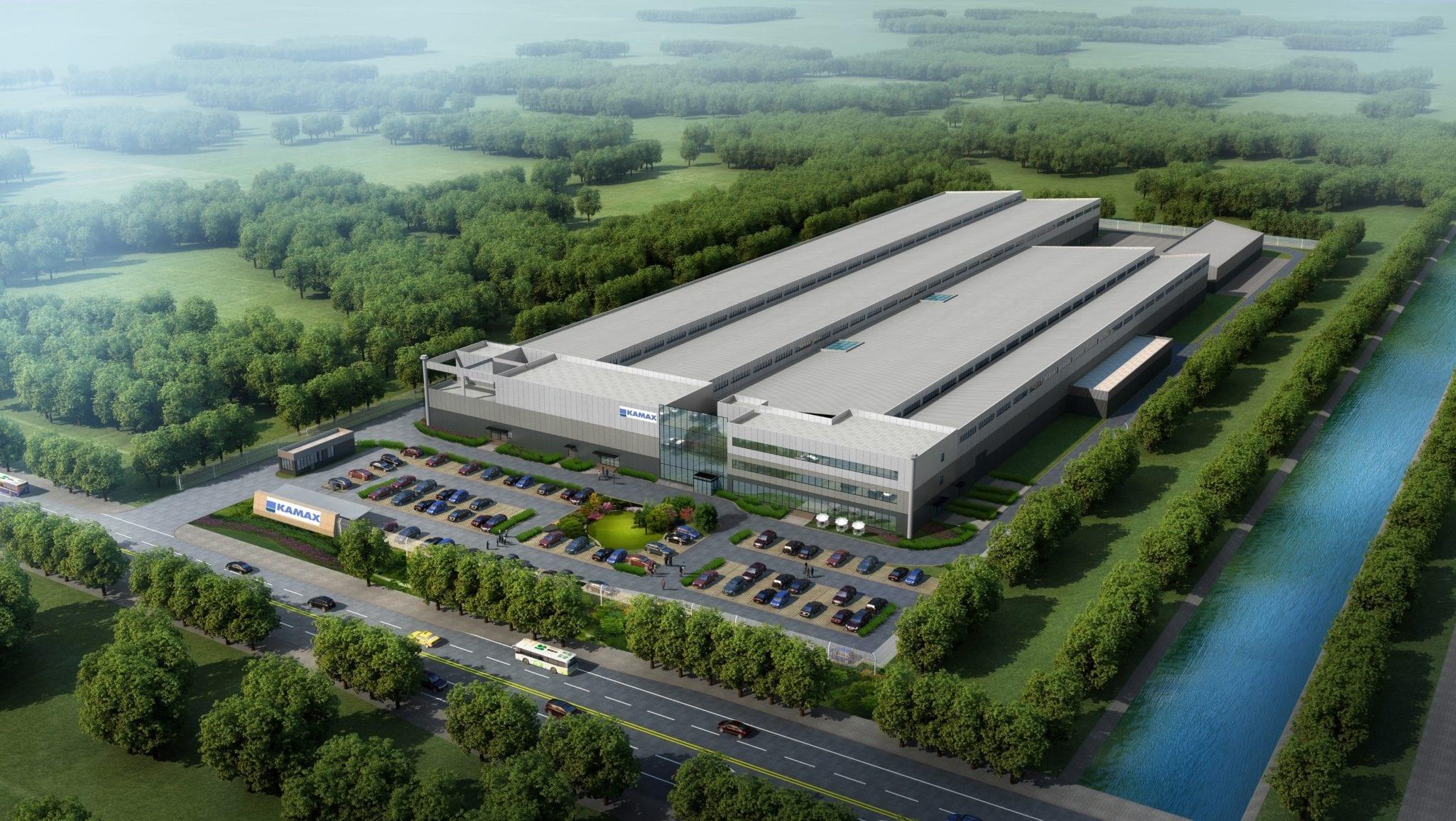 KAMAX confie à GSE CHINE la construction de sa nouvelle usine