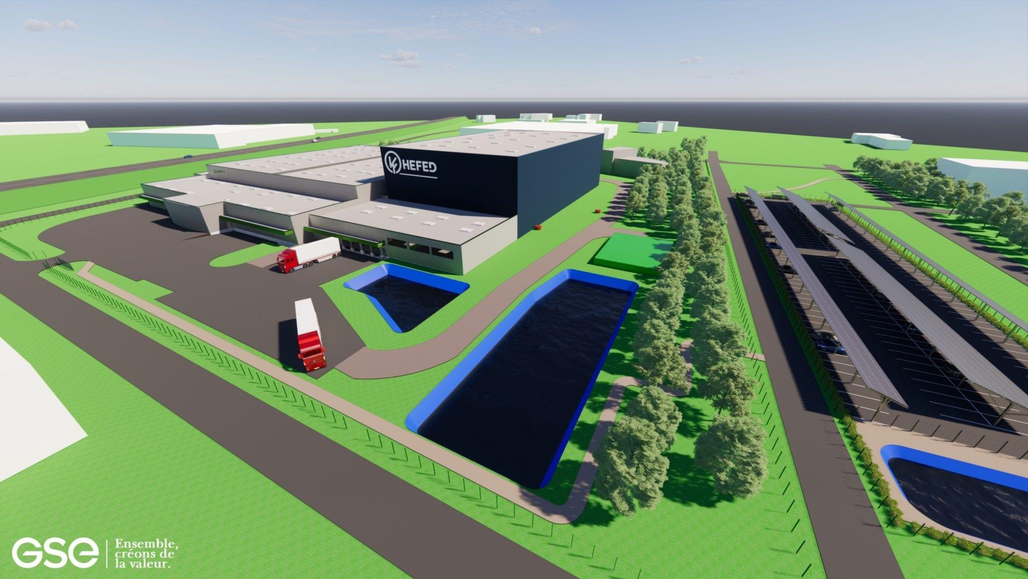 Près de Bourges (18), LA BOVIDA (GROUPE HEFED) confie l'extension de son site logistique à GSE