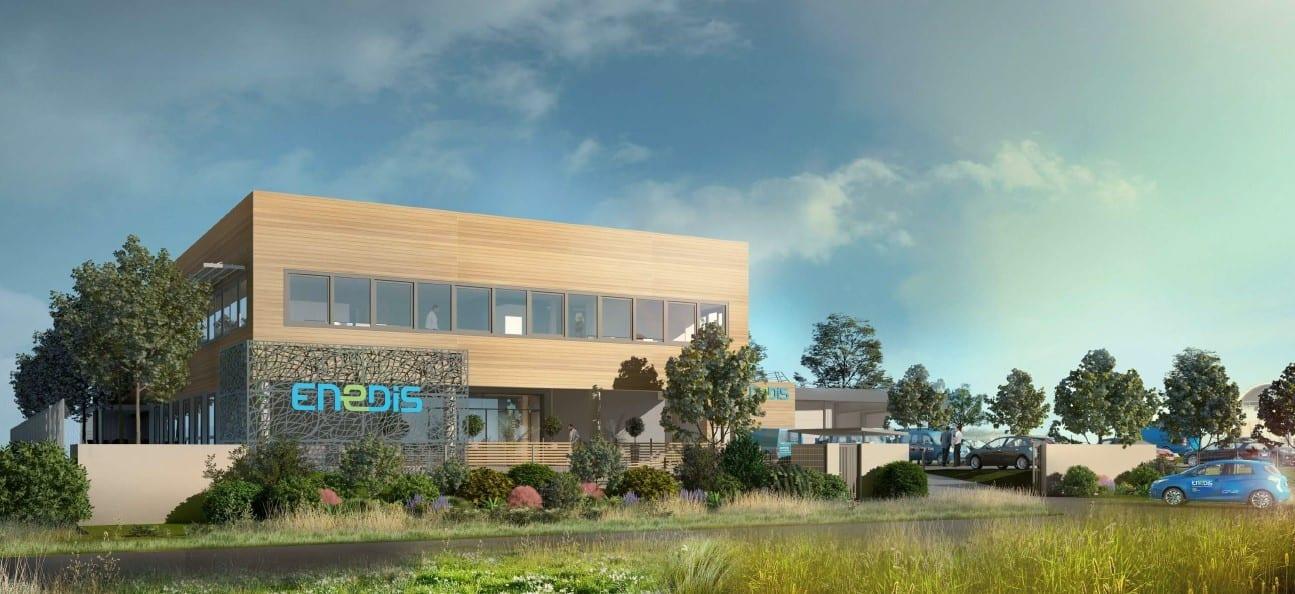 GSE construit koenig 2, un ensemble immobilier pour Enedis