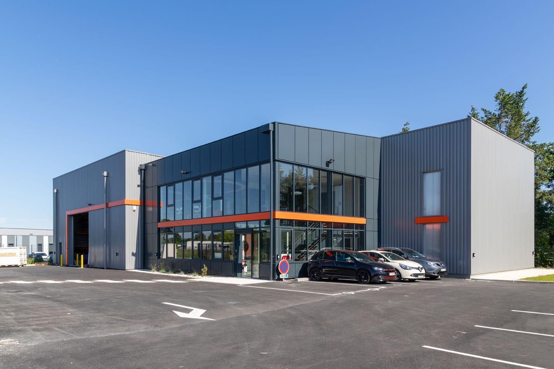 GSE construit un bâtiment d'activité de 843 m² près de Libourne (33)