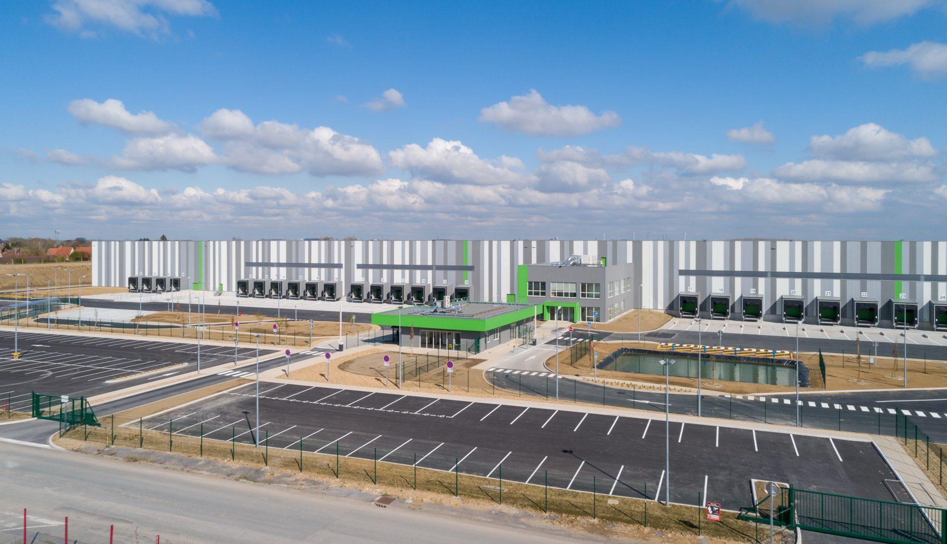 GSE livre une plateforme logistique de 69 400m² pour GOODMAN