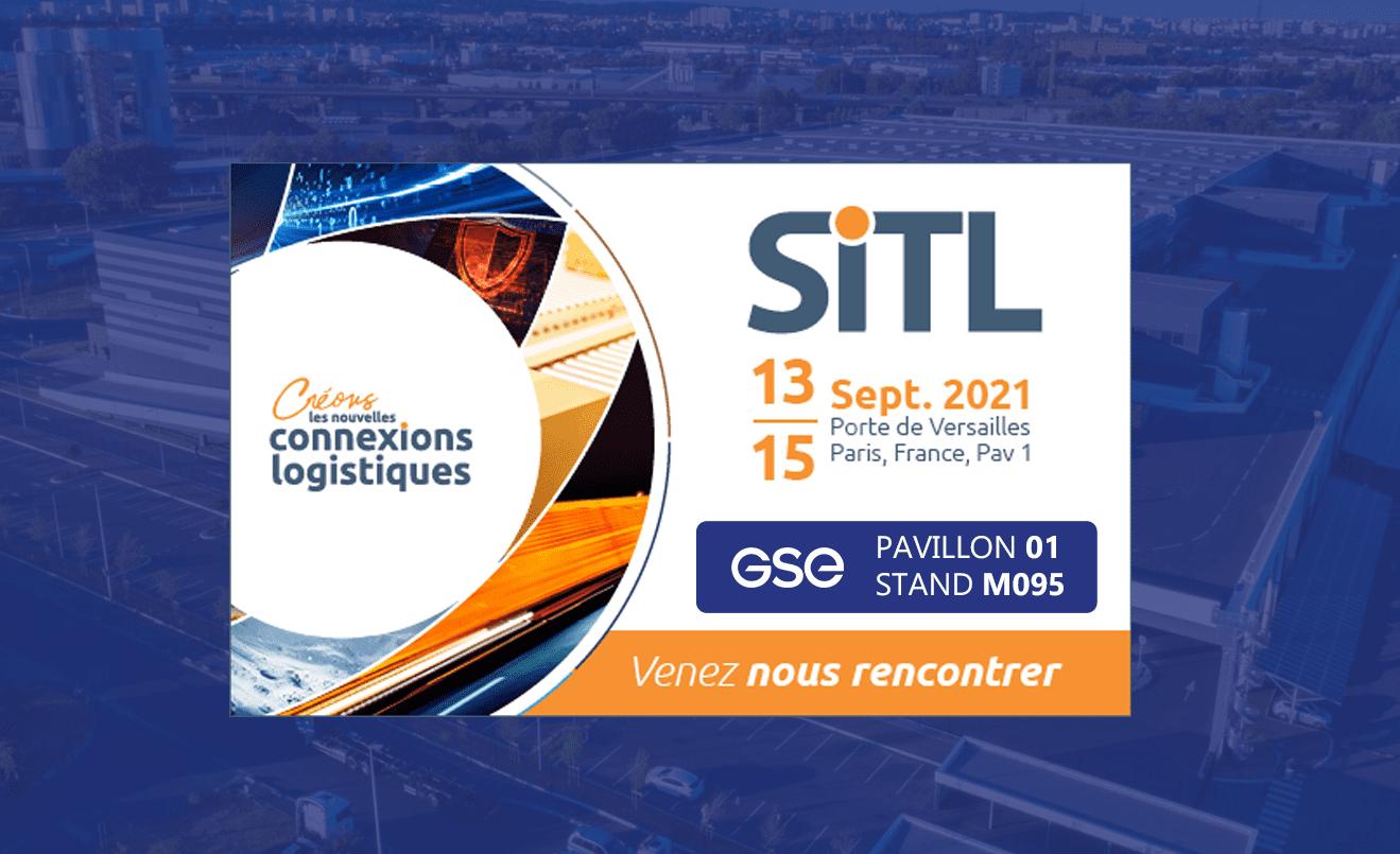 GSE participe au salon SITL du 13 au 15 septembre 2021